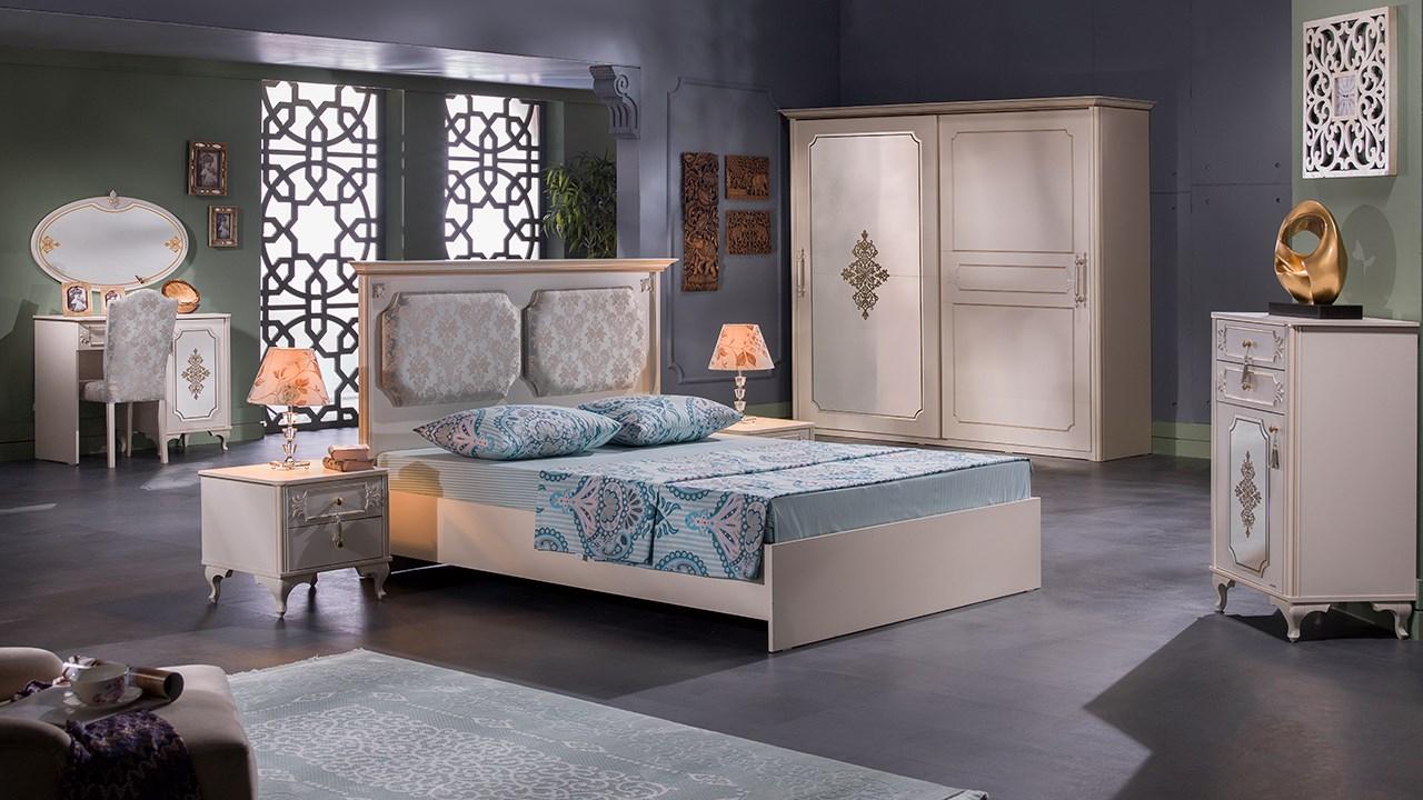 Gold Bedroom Set